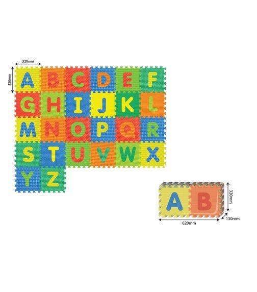 POWER JOY Puzzle Mat Alphabet (A-Z) Pack Of 26 Pieces