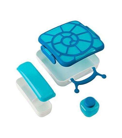 BOON Bento Lunch Box - Blue Snail