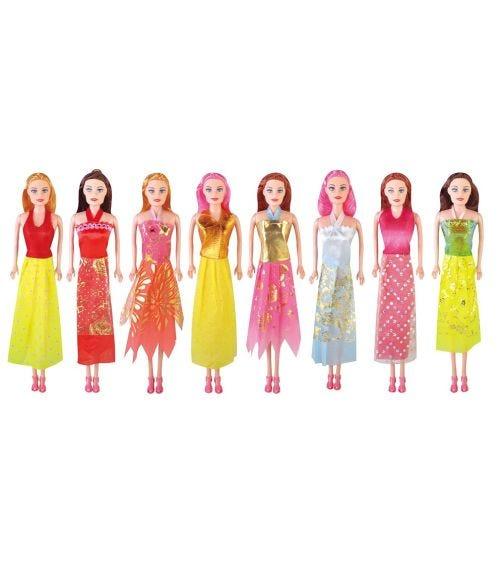 POWER JOY Leila Fashion Doll - Mega Pack 8 In 1