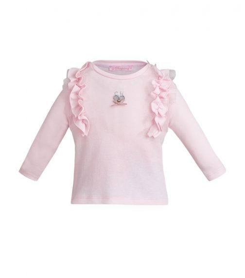 CHOUPETTE Ls Tee With Frills