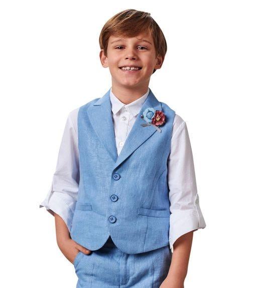 CHOUPETTE Linen Classic Vest