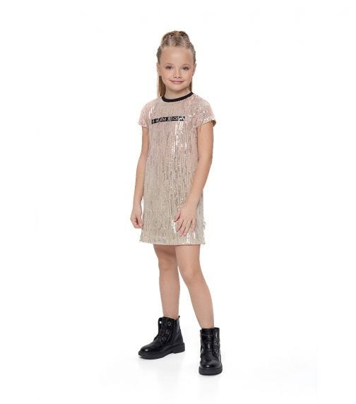 CHOUPETTE Sequins Droplets Dress