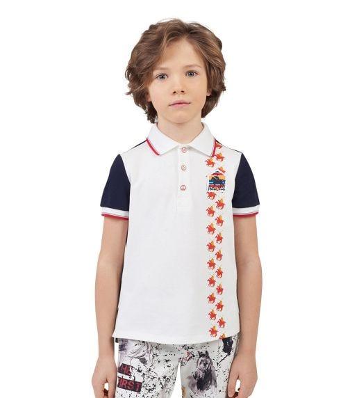 CHOUPETTE Combined Polo-T-Shirt