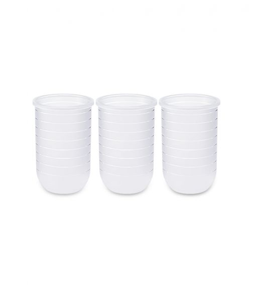 BOON Silicone Bottle 8Oz 3 Pack Pouch