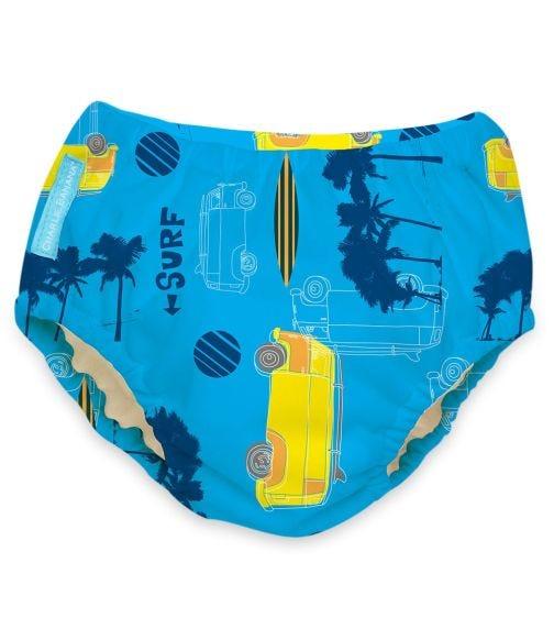 CHARLIE BANANA 2 In 1 Swim Diaper Training Pants - Malibu