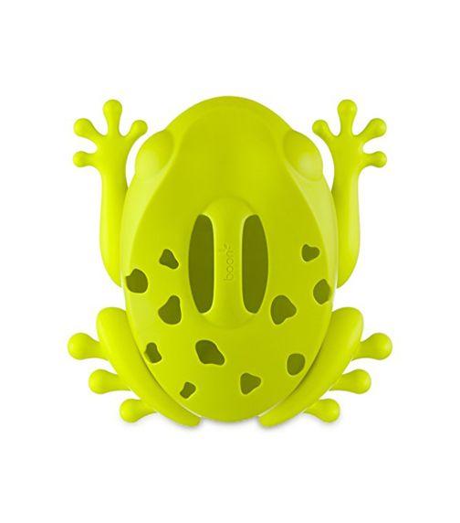 BOON Frog Pod Drain And Storage Bath Toy