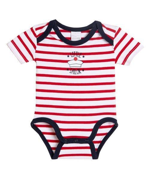 STUMMER Striped Bodysuit