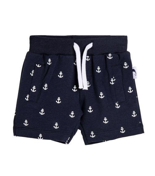 STUMMER Anchor Bermuda Shorts