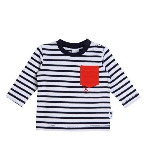 STUMMER Striped Anchor Shirt