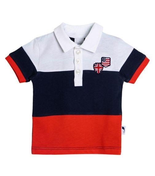 STUMMER Tricolor Polo Shirt