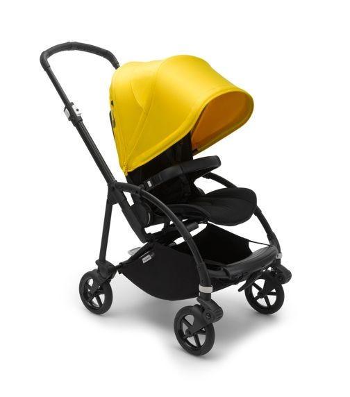 BUGABOO Bee 6 Stroller - Black & Lemon Yellow