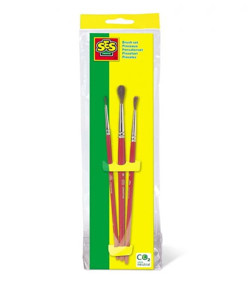 SES CREATIVE Childrens Paint Brushes