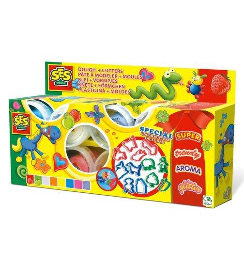 SES CREATIVE Play Dough Colour Set (8 x 90G)