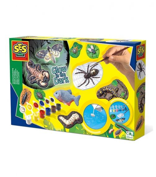 SES CREATIVE Childrens Scary Animals Kit
