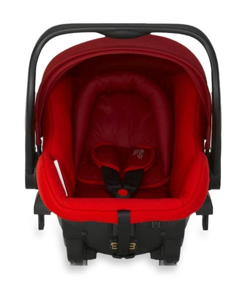 BRITAX Romer Primo Bundle From 0-15 Months With Base Flame Red