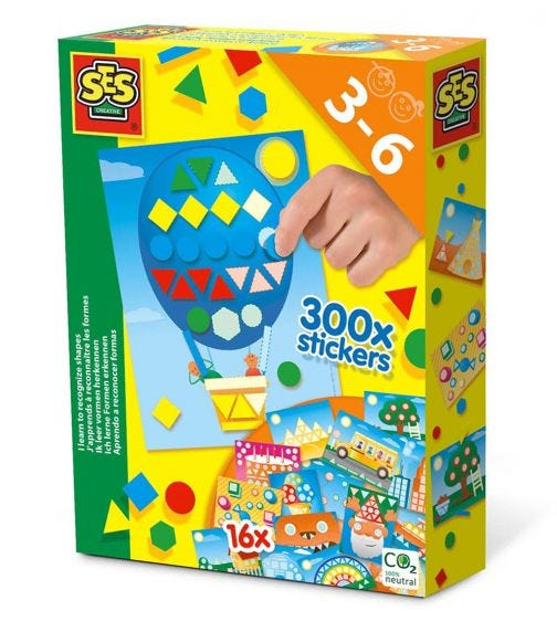 SES CREATIVE I Learn To Recognize Shapes Activity