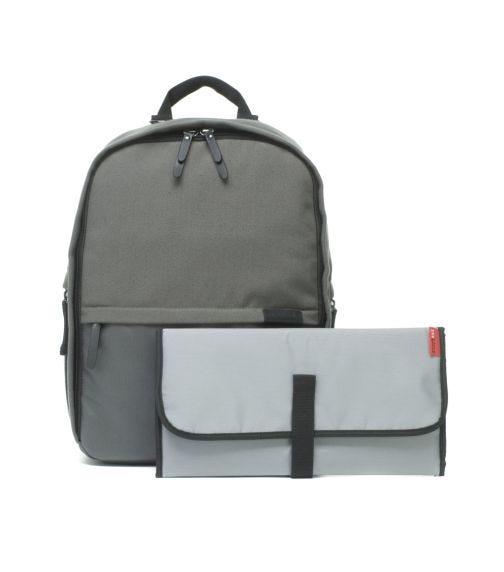 STORKSAK Taylor Diaper Bag - Charcoal