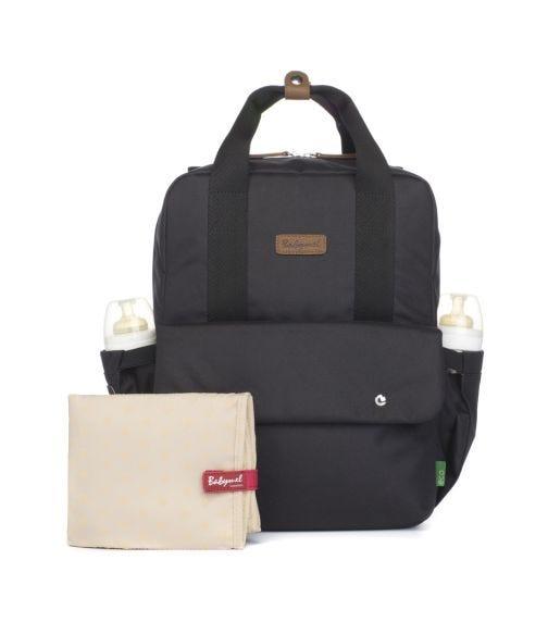 BABYMEL Georgi Convertible Diaper Bag - Black