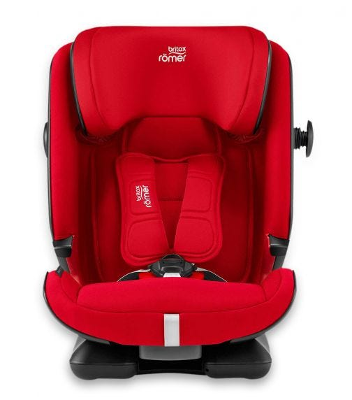 BRITAX Romer Advansafix IV R From 9 Months - 12 Years With ISOFIX Fire Red