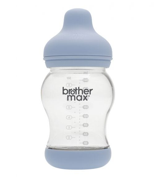 BROTHER MAX Anti-Colic Feeding Bottle 240ML/8Oz (Medium) Teat