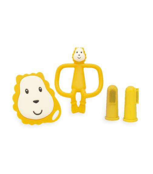 MATCHSTICK MONKEY Matchstick Monkey Teething Starter Set - Ludo Lion