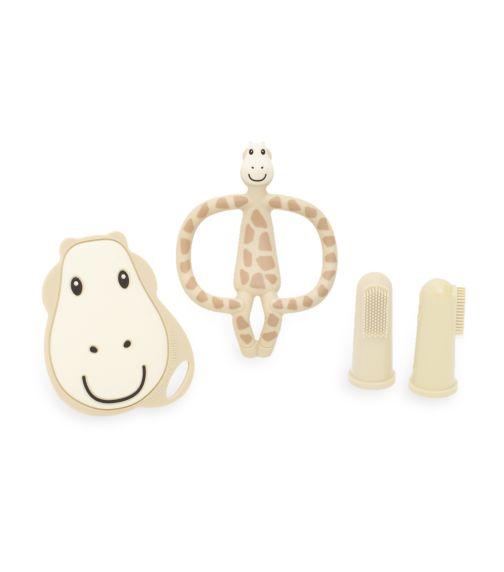 MATCHSTICK MONKEY Matchstick Monkey Teething Starter Set - Gigi Giraffe