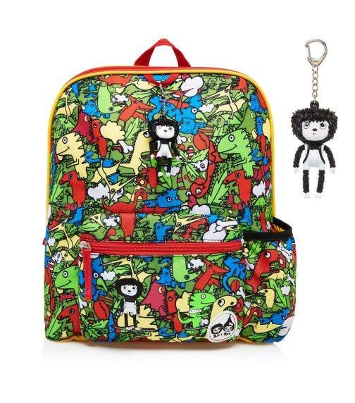 ZIP & ZOE Midi Kid's Backpack (3-7Y) Dino Multi