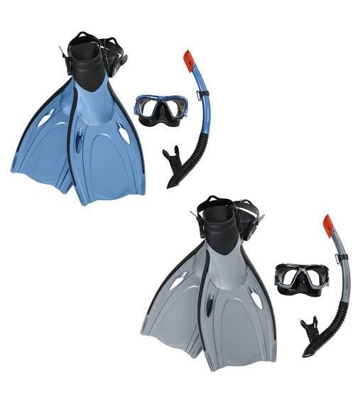 BESTWAY Hydro-Pro Blacksea Snorkel & Fin Set - L/XL