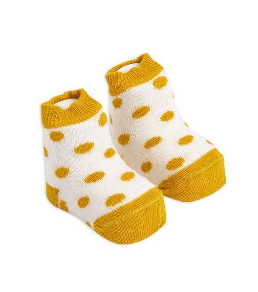 OLAY SOCKS Baby Socks - Yellow Dots