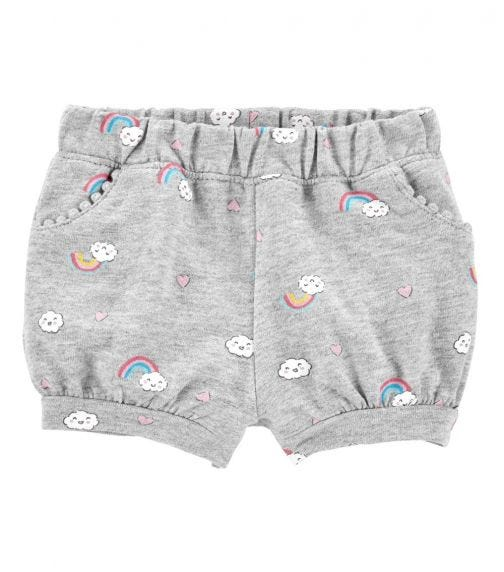 CARTER'S Rainbow Pull-On French Terry Shorts
