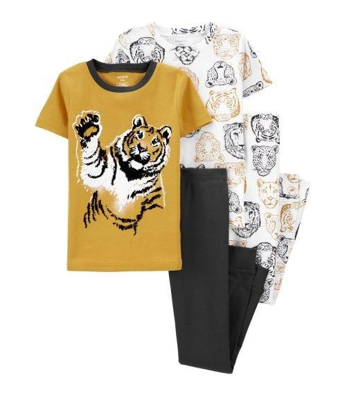 CARTER'S 4-Piece Lion 100% Snug Fit Cotton PJs