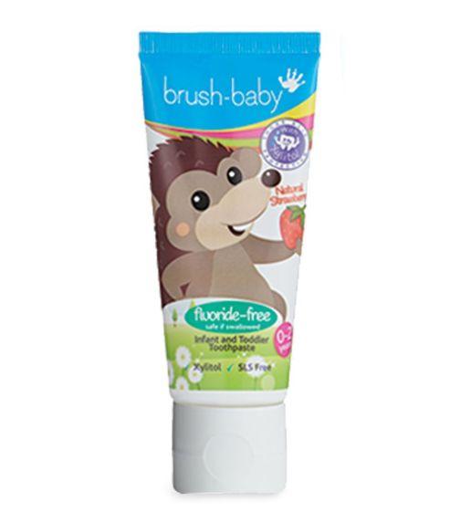 BRUSH BABY Non-Flouride Strawberry Toothpaste 50 ML