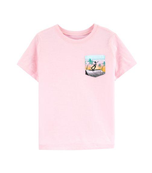 OSHKOSH Skateboard Pocket Tee