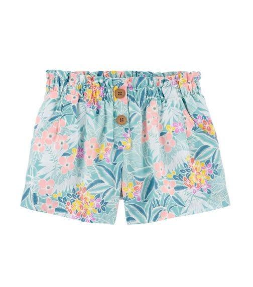 OSHKOSH Tropical Floral Linen Shorts