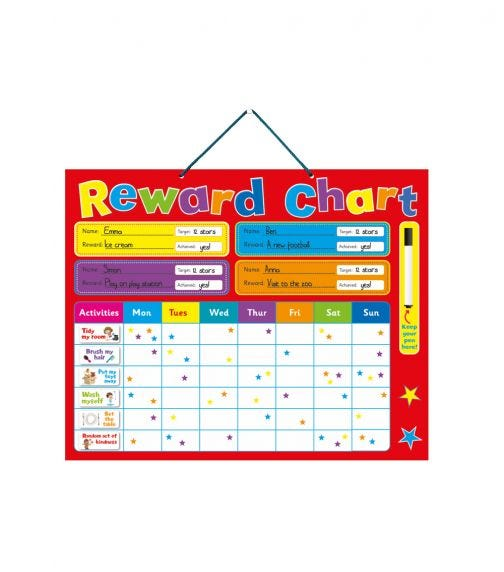 BUDDY & BARNEY Reward Chart
