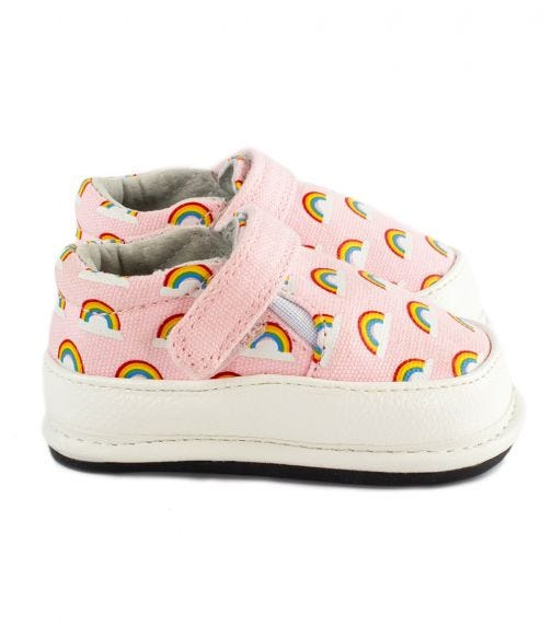 JACK & LILY Cali Slip-On Shoes - Rainbow Pink