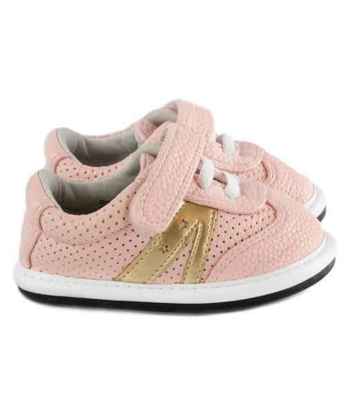 JACK & LILY Daphne Star Trainers - Blush/Gold