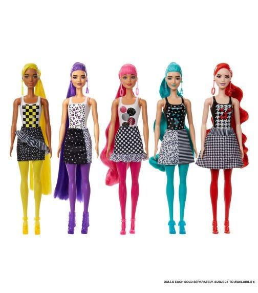 BARBIE Color Reveal Barbie - Monochrome Series (Assorted)