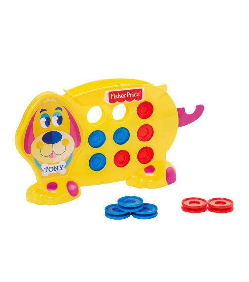 FISHER PRICE Games Tic Tac Tony