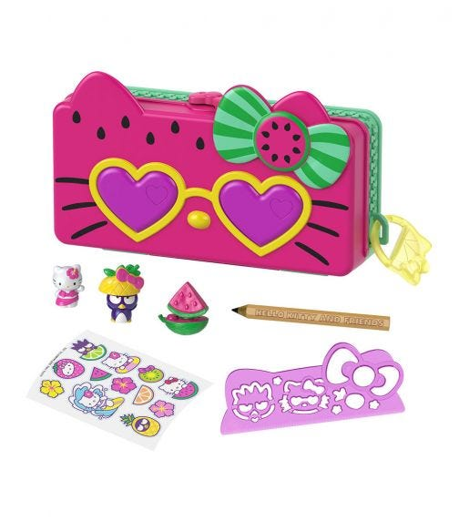 HELLO KITTY Pencil Case Playset - Beach