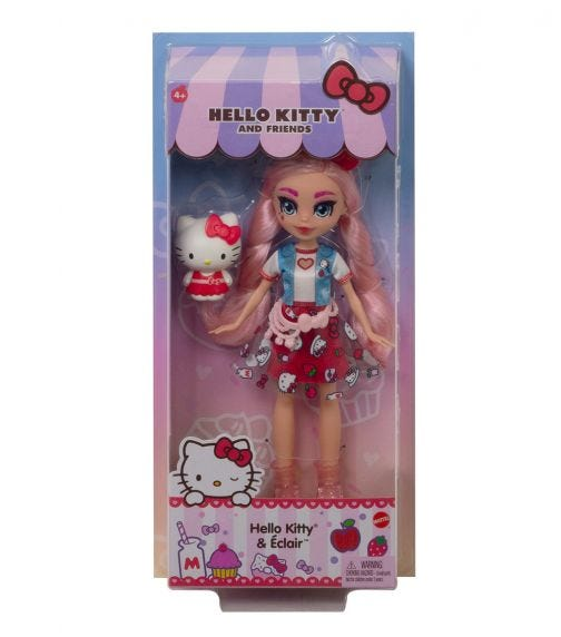 HELLO KITTY Core Dolls - Hello Kitty And Éclair