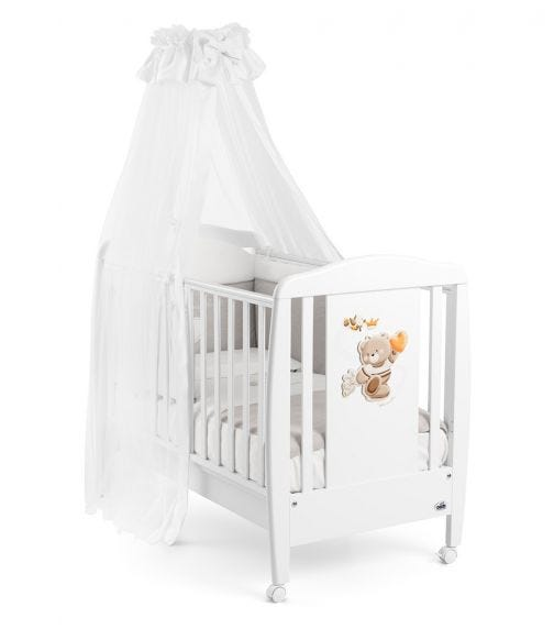 CAM Mosquito Net With Rod - Orso White