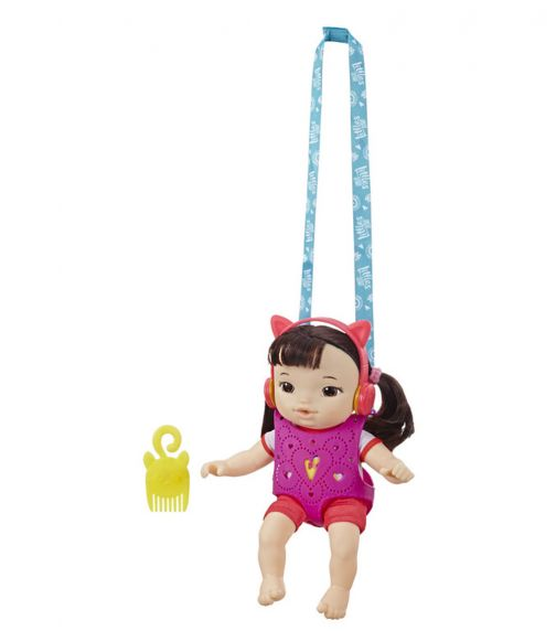 BABY ALIVE Littles Carry N Go Squad - Little Iris