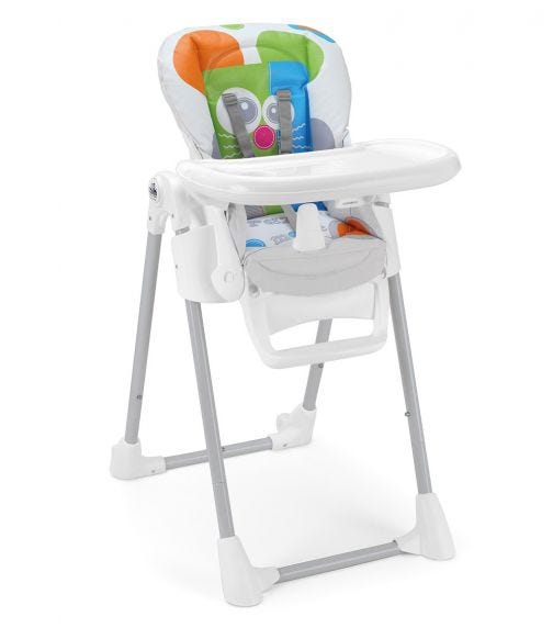 CAM Pappananna High Chair White Mouse