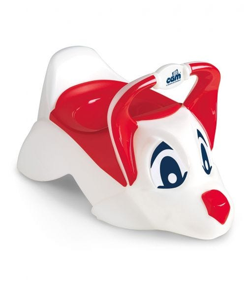 CAM Dudu Anatomical Seat Removable Potty Red