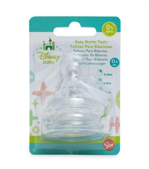 DISNEY Silicone Teats (Pack Of 2)