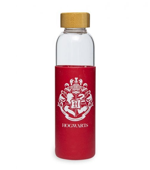 HARRY POTTER Glass Bottle Silicone Cover 585ML