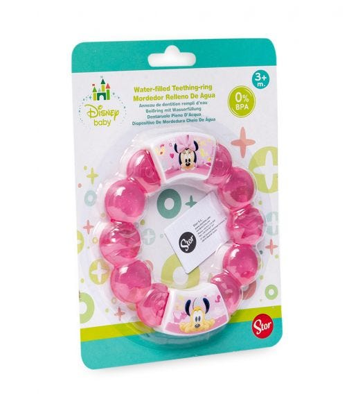 MINNIE Baby Water-Filled Teether