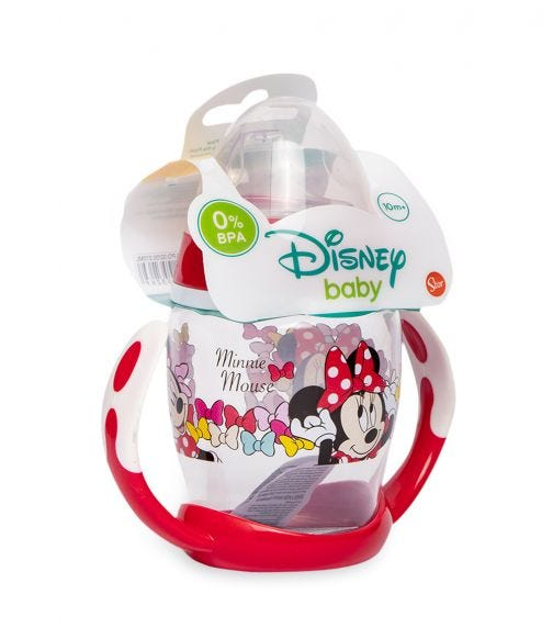 MINNIE Toddler Training Mug With Silicone Spout 270 ML