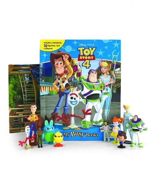 PHIDAL Disney Toy Story 4 My Busy Book